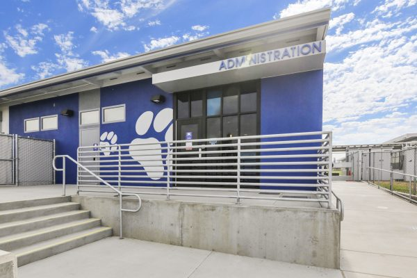 Administrative office of Barton Elementary School