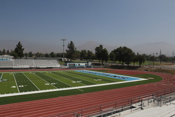 Pictures of San Gorgonio High School Athletic Field upgrades