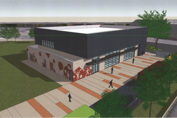 Middle School Gymnasium design