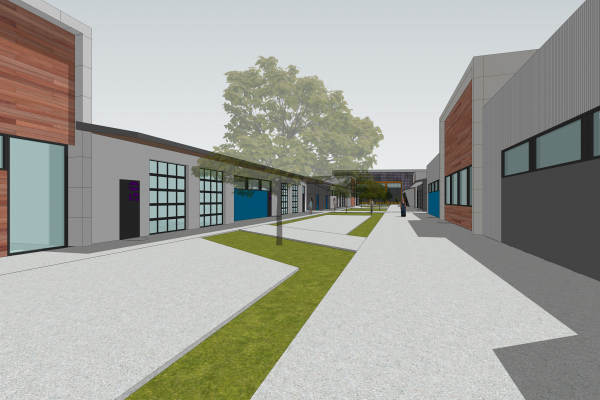 Pacific High School Administration building design